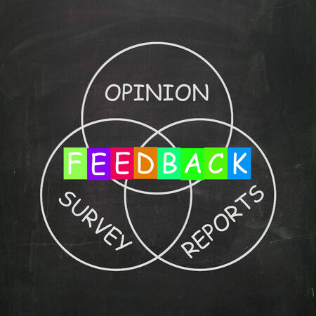 opinions: Feedback Giving Reports and Surveys of Opinions
