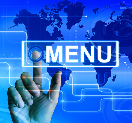 tabulation: Menu Map Displaying International Choices and Options