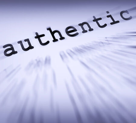 authenticity: Authentic Definition Displaying Authenticity Guaranteed Original Or Genuine Products