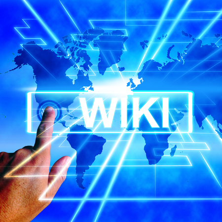 wiki: Wiki Map Displaying Internet Education and Encyclopaedia Websites