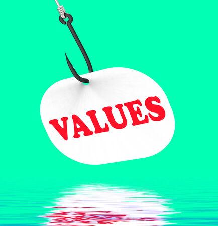 valores morales: Valores On Hook Viendo valores �ticos y la moral
