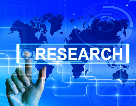 the experimental: Research Map Displaying Internet Researcher or Experimental Analyzing