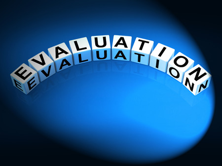 to interpret: Evaluation Letters Showing Judgement Assessment And Review