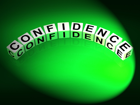 certainty: Confidence Letters Meaning Believe In Yourself And Certainty