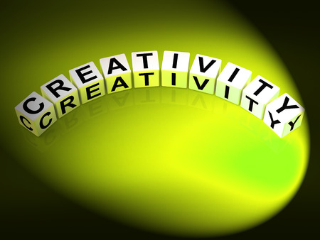 inventiveness: Creativity Letters Meaning Inventiveness Inspiration And Ideas