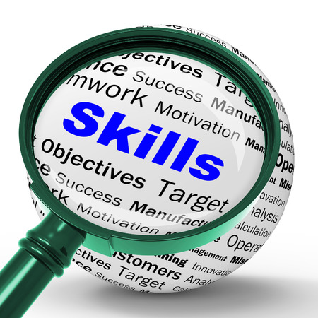 Skills Magnifier Definition Meaning Special Abilities Or Aptitudes