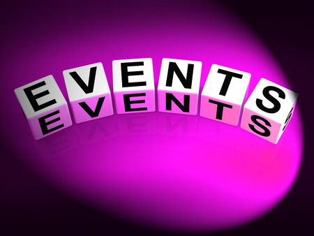 happenings: Events Dice Representing Functions Experiences and Occurrences