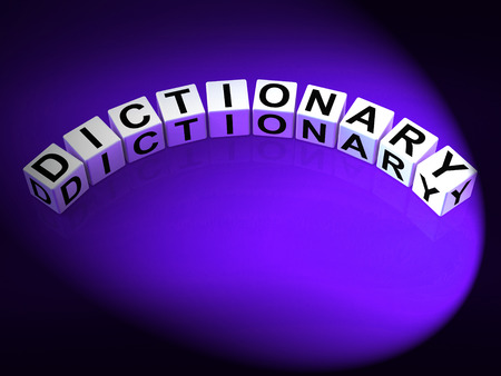 terminology: Dictionary Letters Meaning Meanings Of Words And Reference