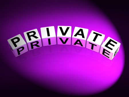 confidentially: Private Dice Referring to Confidentiality Exclusively and Privacy