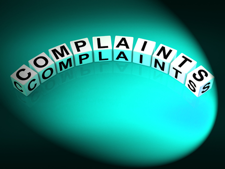 criticism: Complaints Letters Meaning Dissatisfied Angry And Criticism
