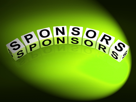 sponsors: Sponsors Dice Representing Advocates Supporters and Benefactors