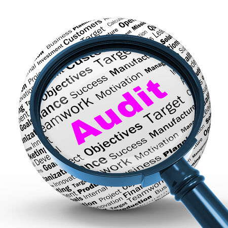 verification: Audit Magnifier Definition Meaning Financial Inspection Verification Or Audit