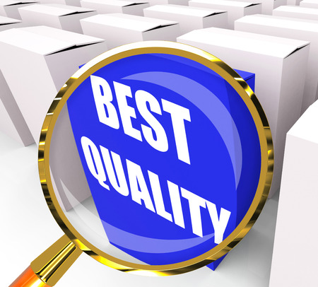 superiority: Best Quality Packet Representing Premium Excellence and Superiority Stock Photo