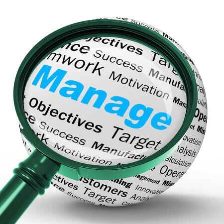 administracion empresarial: Gestione Magnifier Definici�n Administraci�n de Empresas Significado O Desarrollo
