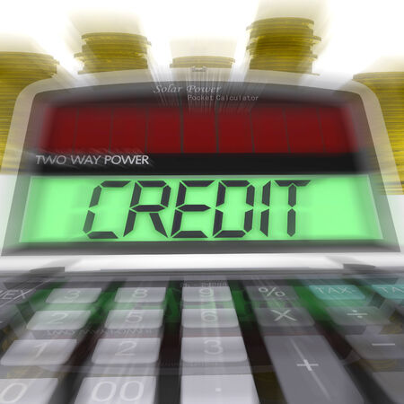 calculated: Credit Calculated Meaning Loan Money And Financing