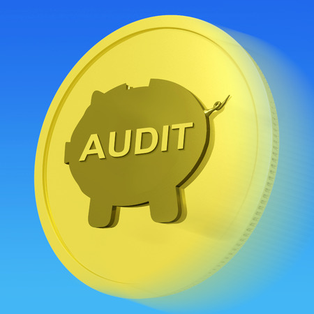 auditors: Audit Gold Coin Showing Auditing And Inspection Of Finances