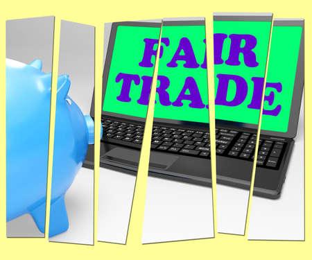 fairtrade: Fair Trade Piggy Bank Meaning Fairtrade Ethical Shopping
