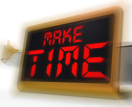 allocate: Make Time Digital Clock Meaning Fit In What Matters