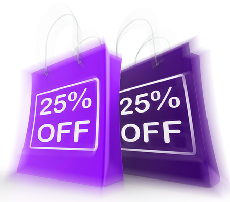 markdown: Twenty-Five Percent Off On Bags Shows 25 Bargains