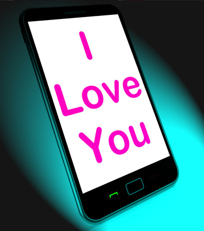 adore: I Love You On Mobile Showing Adore Romance