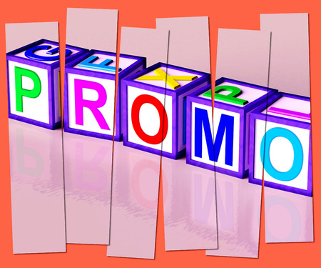 discounted: Promo Word Meaning Special Reduced Price Or Off