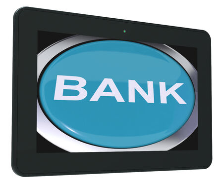 internet banking: Bank Switch Showing Online Or Internet Banking