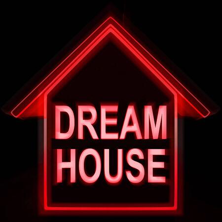 droomhuis: Dream House Homes Betekenis ideaal voor familie