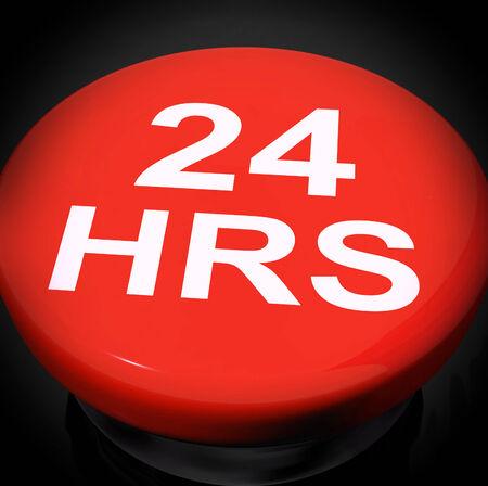 24x7: Twenty Four Hours Switch Showing Open 24 hours