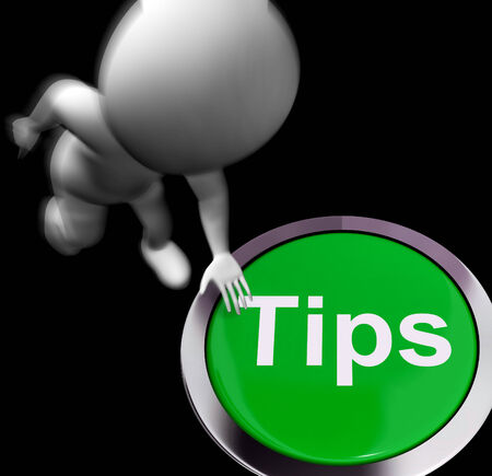 suggestions: Tips Pressed Showing Hints Suggestions And Help