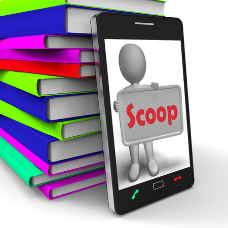 informant: Scoop Phone Meaning Exclusive Information Or Inside Story