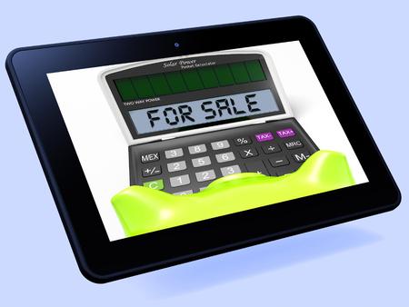 listing: Para Tablet Venta Calculadora Mostrando Venta O Ficha