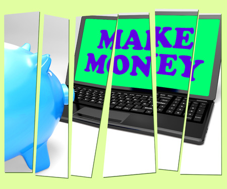 accumulating: Make Money Piggy Bank Meaning Accumulating Wealth And Prosperity