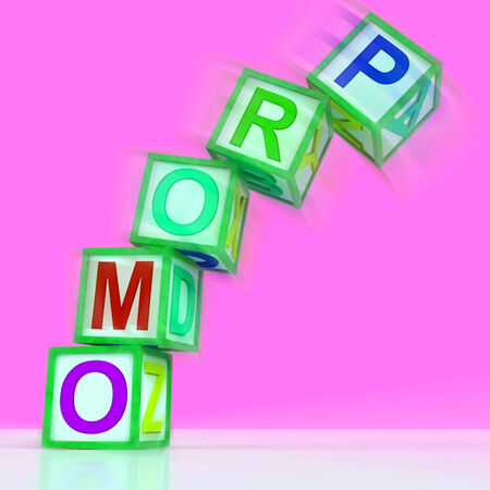 discounted: Promo Letters Meaning Bargain Reduced Price Or Special