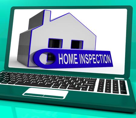 � fond: Accueil Maison inspection portable Signification Inspectez soigneusement la propri�t�