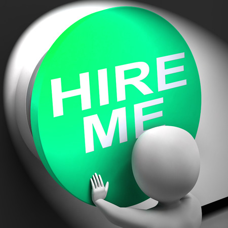 freiberufler: Stellen Sie mich Pressed Bedeutung Stellenbewerber oder Freelancer