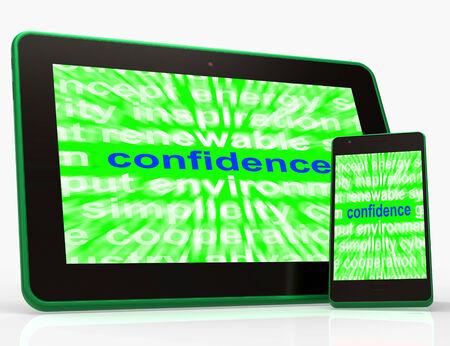 composure: Tablet Fiducia Mostro di s� compostezza e la Fede