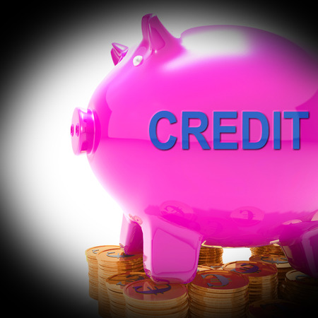 creditors: Credit Piggy Bank Coins Meaning Financing From Creditors
