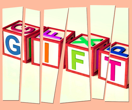 Gift Letters Meaning Giveaway Present Or Offer