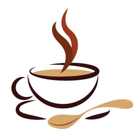 Boissons chaudes Affichage Pause café et des boissons