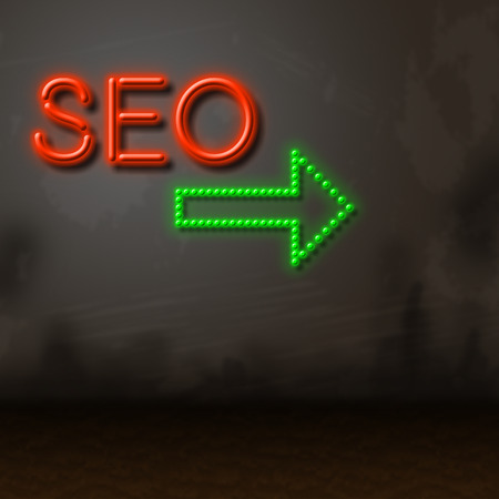 Seo Neon Meaning Optimization Fluorescent And Optimizing