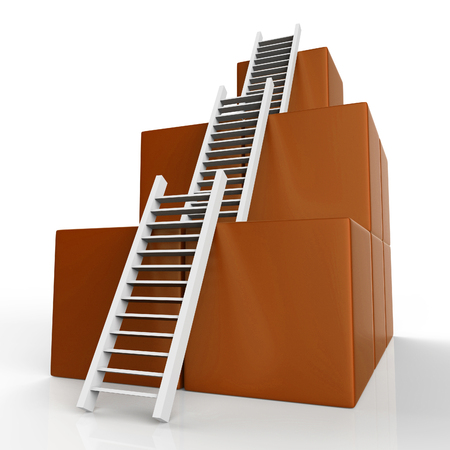 Growth Ladder Meaning Step Expand And Victors
