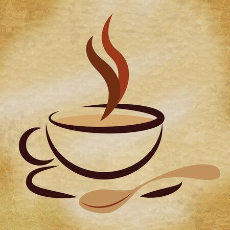 caffeine: Beverage Coffee Showing Caffeine Drink And Drinks Stock Photo