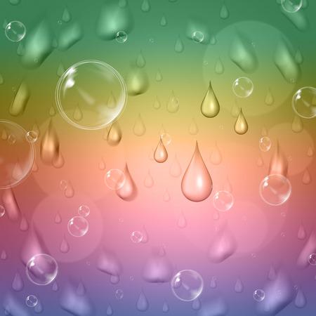 squall: Rain Drop Indicating Raining Precipitation And Pastel