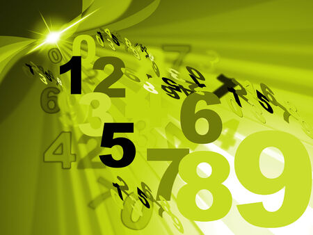 numeracy: Counting Maths Meaning Mathematics Numeracy And Backdrop Stock Photo