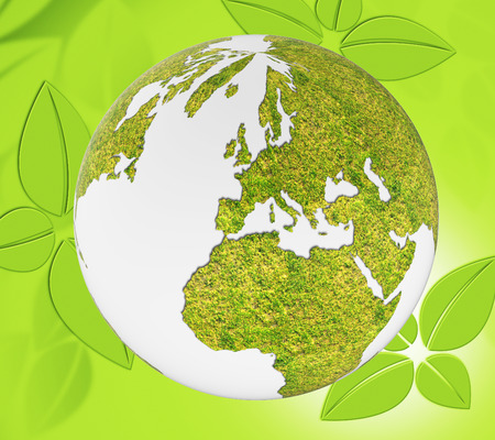 globally: World Nature Showing Trees Globally And Globalise