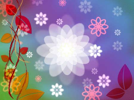 light burst: Color Glow Zeige Light Burst Und Blumenstrau� Lizenzfreie Bilder