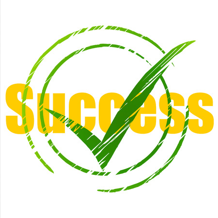 Success Tick Indicating Confirm Successful And Triumph Stock Photo - 29566668