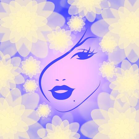 attractiveness: Maquillaje Indicando Persona Mujer y el atractivo Foto de archivo