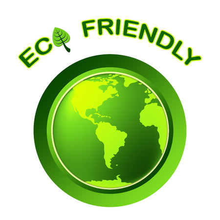 globally: Eco Friendly Representing Earth Day And Protection