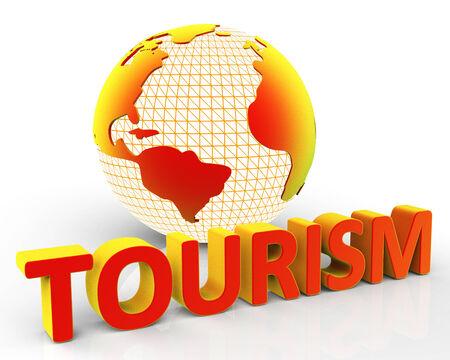 destinos: Turismo Global Mostrando Destinos Planeta Y Tierra Foto de archivo